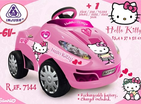 coche de Hello Kitty para regalar estas navidades