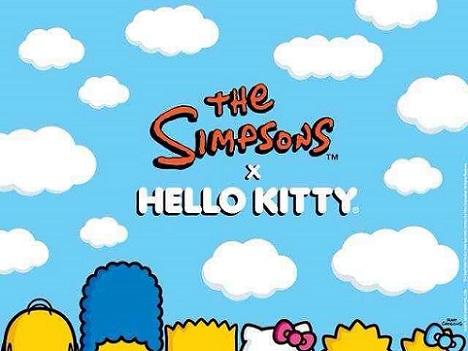 los simpson y hello kitty juntos
