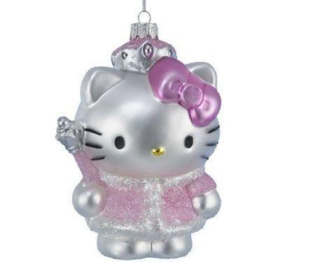 adornos de navidad de hello kitty