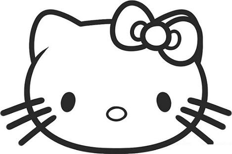 muneca de fieltro de hello kitty