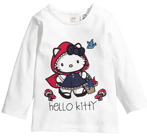 amiseta de hello kitty de hym invierno 2014