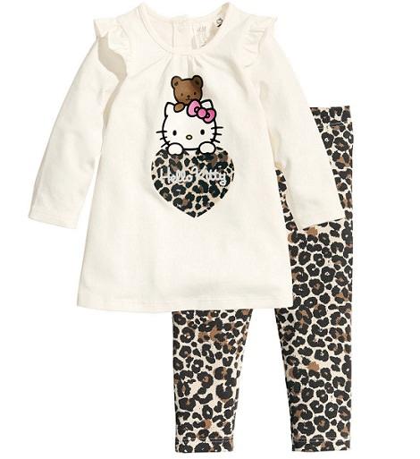 conjunto de ropa de hello kitty de hym invierno 2014