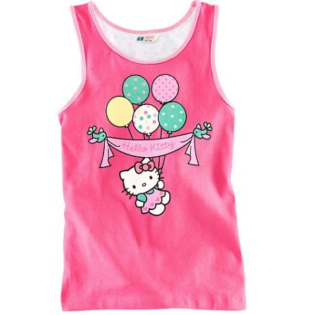 ropa de Hello Kitty hm primavera 2013  - Ropa de Kitty H&M primavera 2013