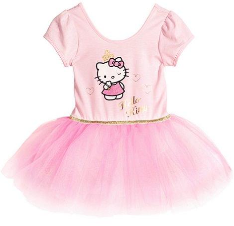 vestido de Hello Kitty para niña