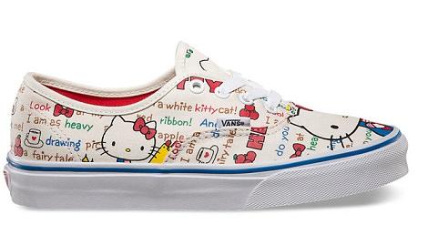 hello kitty zapatillas vans