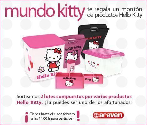 Sorteo de productos Hello Kitty de Araven