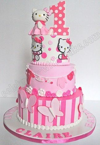 tartas de hello kitty originales  - Tartas de Hello Kitty originales