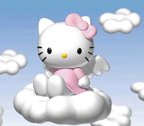 hello kitty angel fondo de pantalla