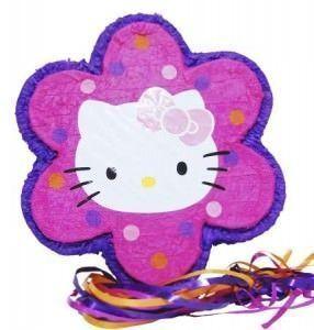 cumpleaños hello kitty piñata