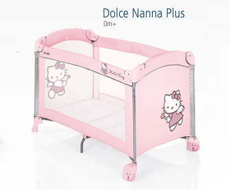 Cuna de viaje Hello Kitty