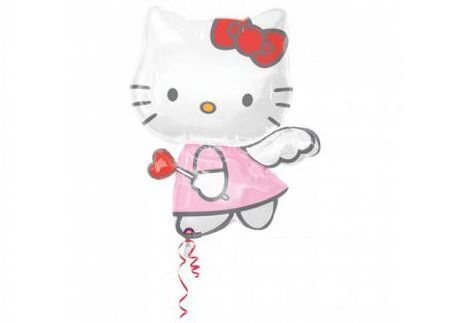 globos kitty corazon