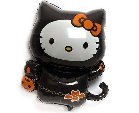 globos kitty halloween