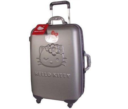maletas hello kitty relieve metal