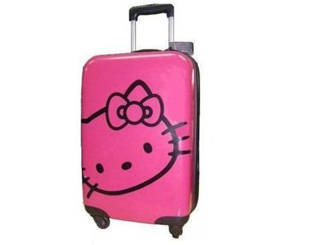 maletas hello kitty rosa