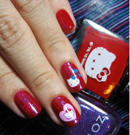 Manicura Kitty
