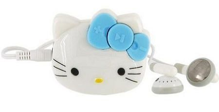 mp3 hello kitty azul