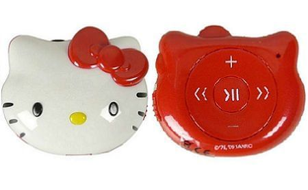 mp3 hello kitty rojo completo