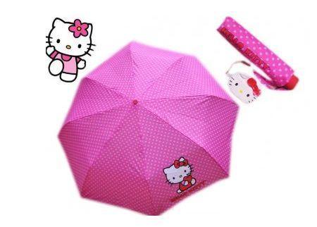 paraguas-kitty-plegable