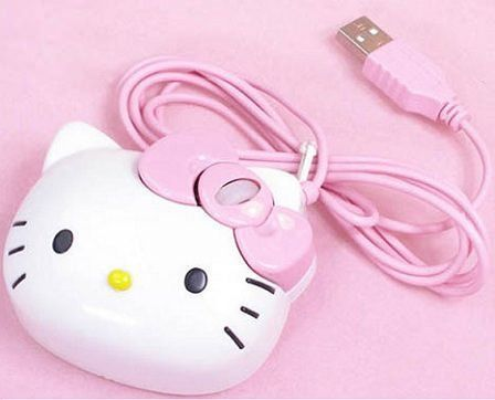 raton kitty rosa