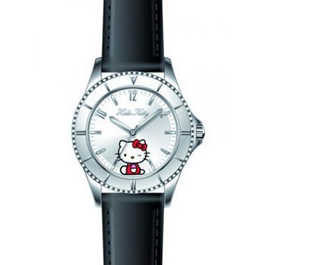 reloj kitty piel