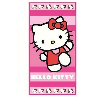 toallas hello kitty caritas