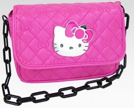 bolsos kitty rosa