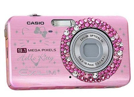 camara hello kitty casio