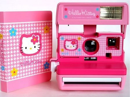 camara hello kitty polaroid