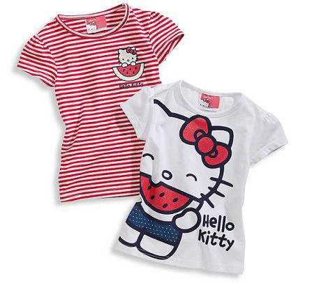 Camisetas Hello Kitty de C&A