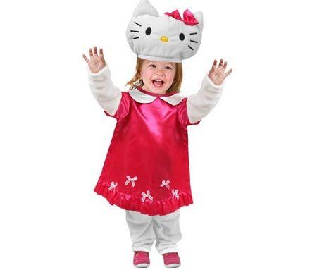 disfraz hello kitty vestido rojo