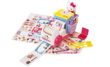 Fábrica de pegatinas Hello Kitty