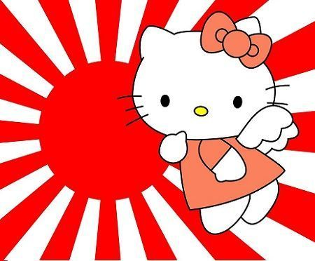 fondos escritorio hello kitty japon