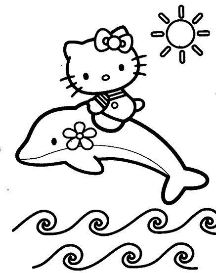 hello kitty delfin