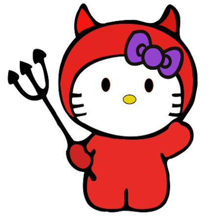 Hello Kitty Demonio