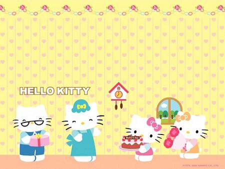 Hello Kitty y familia