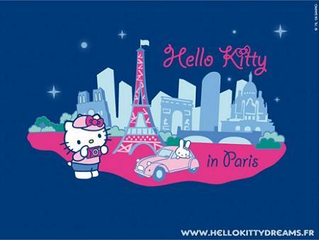 Hello Kitty en París
