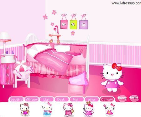 juegos hello kitty decorar