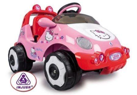 juguetes hello kitty coche