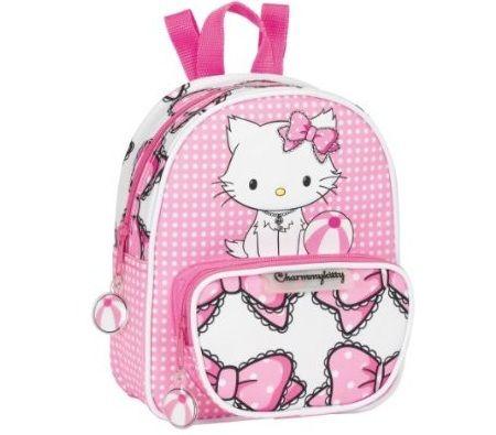 mochila escolar hello kitty nina
