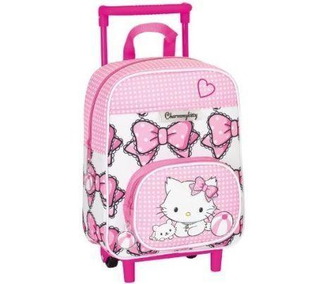 mochila escolar hello kitty ruedas