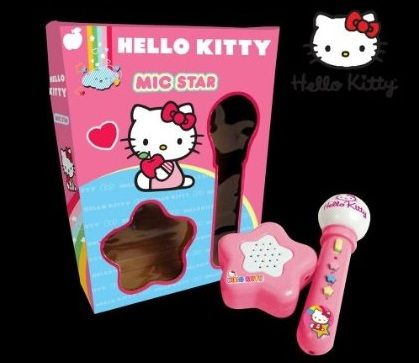 musica hello kitty micreofono luces