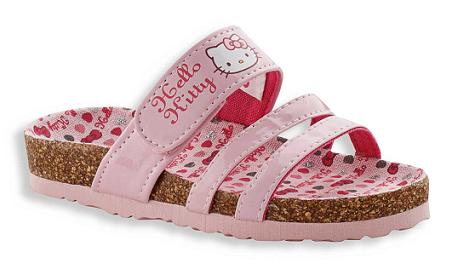 Sandalias Hello Kitty de C&A