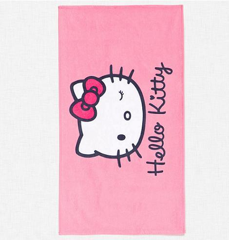 toalla playa hello kitty
