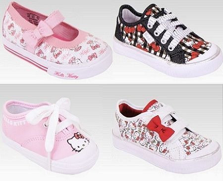 zapatos bebes hello kitty