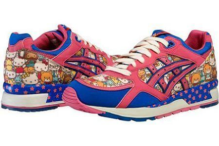 zapatos hello kitty asics