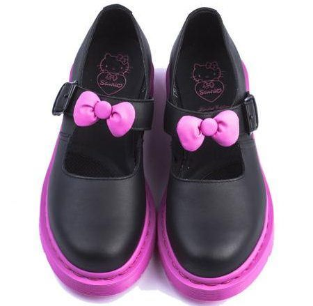 zapatos hello kitty bailarinas martens