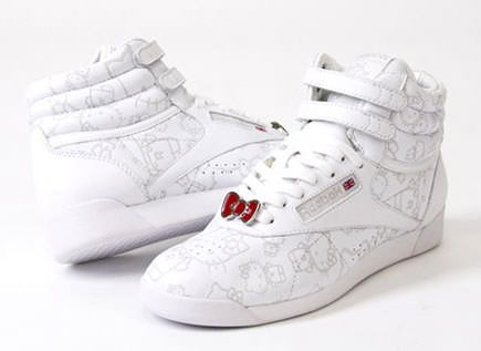 zapatos hello kitty deportivas reebok