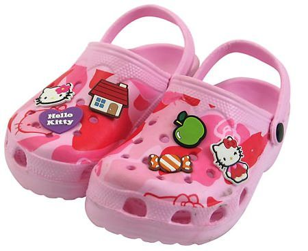 zapatos hello kitty zuecos