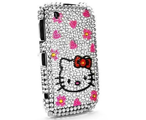 blackberry hello kitty brillantes corazones