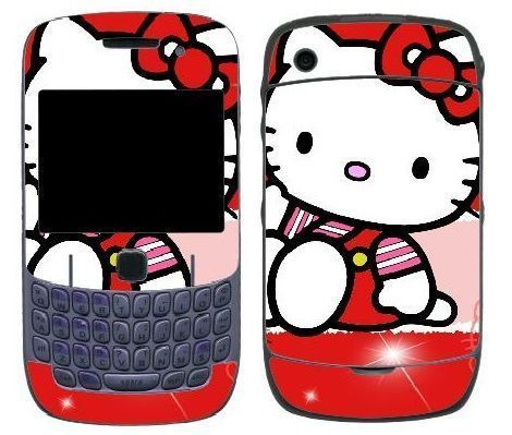 blackberry hello kitty goma roja